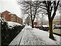SJ9594 : Dowson Road in the snow by Gerald England
