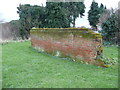 TL9641 : Remaining part of the pound wall, Groton by Humphrey Bolton