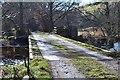 NT2442 : Site of former railway bridge, Kidston Mill by Jim Barton