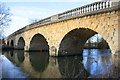 SP4408 : Swinford Bridge for B4044 over River Thames by Roger Templeman
