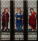 SK8354 : Stained glass window, All Saints' church by Julian P Guffogg