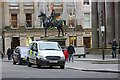NS5965 : Duke of Wellington Statue in Glasgow with a cone on his head by Garry Cornes