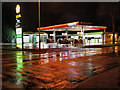 SD7807 : Bury Road, Texaco Petrol Station by David Dixon