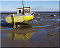 SD4465 : Small boat on the mud by Ian Taylor