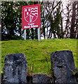 SH8578 : Ysgol Bod Alaw nameboard, Colwyn Bay by Jaggery