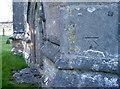 ST5956 : Benchmark on St Margaret's church by Neil Owen