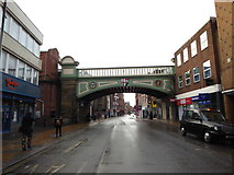 SO8455 : Foregate Street: early March 2016 by Basher Eyre