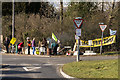 TQ2643 : Anti-fracking protest, Horse Hill by Ian Capper