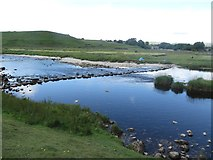 SE0063 : Stepping stones across the River Wharfe by Graham Robson