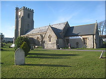 ST3049 : St. Andrew's church, Burnham on Sea by Jonathan Thacker