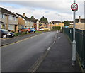 ST3091 : Wavell Drive 20mph speed limit, Malpas, Newport by Jaggery