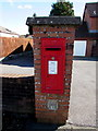 SN5200 : King George VI postbox, Coed Cae Road, Llanelli by Jaggery