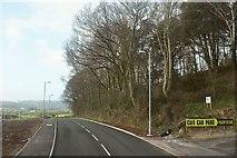 SX8769 : Road past Aller Covert by Derek Harper