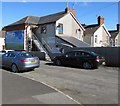 SN5200 : Steps up to Miss Adele's unisex hair salon, Llanelli by Jaggery