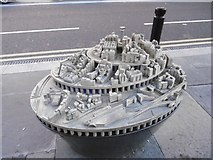 NZ2463 : City centre model by Richard Webb