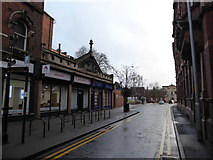 SO8455 : Looking from Foregate Street into Sansome Street by Basher Eyre