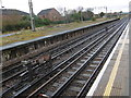 TQ5084 : The old platform at Dagenham East station by Marathon