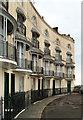 TQ8209 : Pelham Crescent (west side), Hastings by Julian Osley