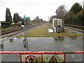 TQ5486 : The disused part of the platform at Upminster Bridge Underground station by Marathon