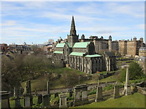 NS6065 : Glasgow Cathedral from the Necropolis by Euan Nelson