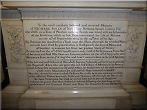 SO8554 : Worcester Cathedral: memorial (17) by Basher Eyre