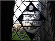 SO8554 : Worcester Cathedral: memorial (26) by Basher Eyre