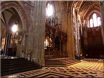 SO8554 : Inside Worcester Cathedral (iv) by Basher Eyre