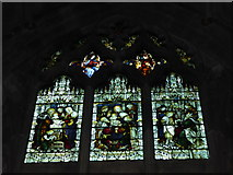 SO8554 : Worcester Cathedral: stained glass window (XXII) by Basher Eyre