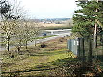 TG1607 : The A47 road past Colney by Evelyn Simak