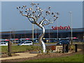 SK6008 : Leicester's World Tree sculpture by Mat Fascione