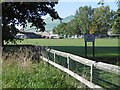 NZ2865 : Fossway Recreation Ground by Richard Webb