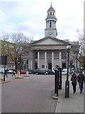 TQ2882 : St Marylebone Parish Church by Oliver Dixon