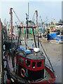 TF6120 : Lynn fishing boats - The Fisher Fleet, King's Lynn by Richard Humphrey