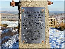 SD6614 : Winter Hill Air Disaster Memorial by David Dixon