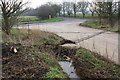 SP4611 : Roadside ditch and culvert approaching Yarnton Road by Roger Templeman