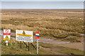 TF4594 : Salt marshes at Saltfleet  by David P Howard