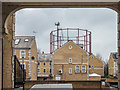 TQ3580 : Gas Holder Rotherhithe, London SE1 by Christine Matthews