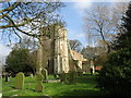TA1545 : St. Lawrence, Sigglesthorne from the south west by Jonathan Thacker