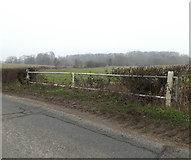 TM3669 : Bridge on the A1120 Yoxford Road by Adrian Cable