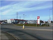 SE8912 : Kia Motors Garage in Scunthorpe by Jonathan Clitheroe