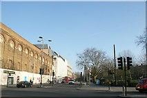 TQ3179 : View down Waterloo Road from Baylis Road by Robert Lamb