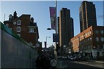 TQ3179 : View up Waterloo Road by Robert Lamb