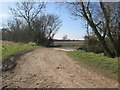 SE7753 : Track  and  bridleway  going  right  over  Salt  Beck by Martin Dawes