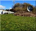 SS5199 : Vodafone satellite dish, Bigyn, Llanelli by Jaggery