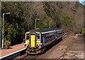NN1227 : Train at Loch Awe station - March 2016 by The Carlisle Kid