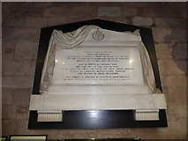 SO8554 : Worcester Cathedral: memorial (114) by Basher Eyre