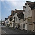 TL5338 : Saffron Walden: Church Street and the former Sun Inn by John Sutton