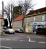 ST6976 : Junction in the centre of Pucklechurch by Jaggery