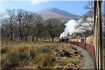 SH5848 : Full steam ahead from Beddgelert by Richard Hoare