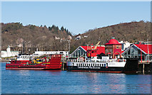 NM8530 : Leslie Anne & Loch Striven at North Pier, Oban (March 2016) by The Carlisle Kid